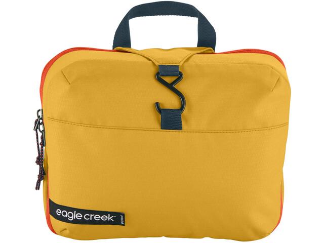 Eagle Creek Pack It Reveal Hanging Toiletry Kit sahara yellow